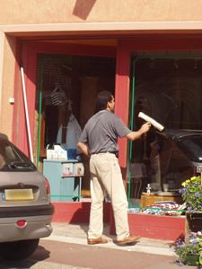 nettoyage de vitrines