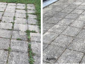 Avant et après la remise en état